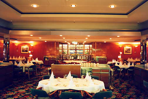 Sea princess orig dining room